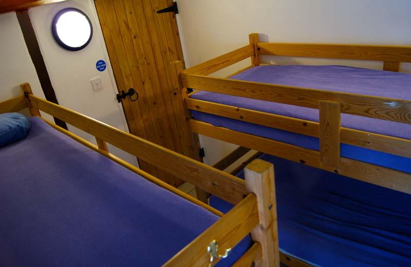 Ynysmarchog Bunkhouse - 4 Bed Bunk Room